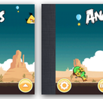 Exempel med Angry Birds