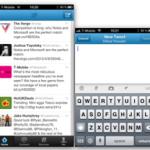 Exempel med Twitter-appen